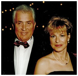 Max Schuster mit seiner Ehefrau